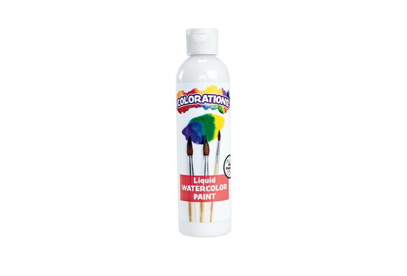 Colorations® Liquid Watercolor™ Paint, White - 8 oz.