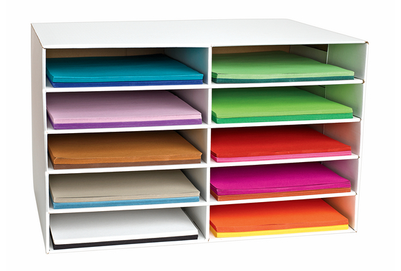 Classroom Keepers® 12  x 18  Construction Paper Storage  sc 1 st  Discount School Supply & Paper Tray Storage - Discount School Supply
