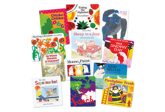 Early Learning Board Book Library