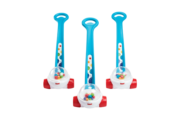 Set of Three Push Toys