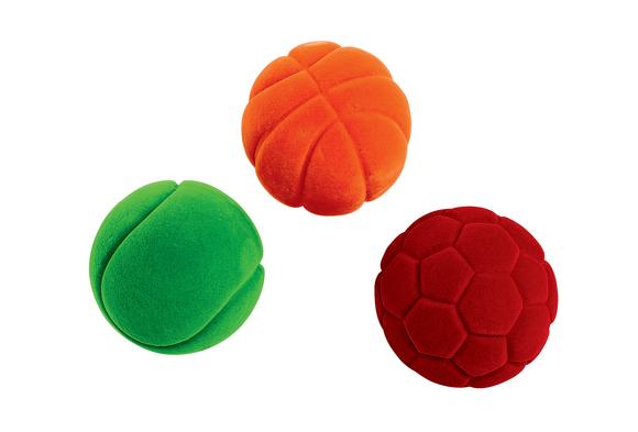 Small Sensory Sport Balls - Set of 3