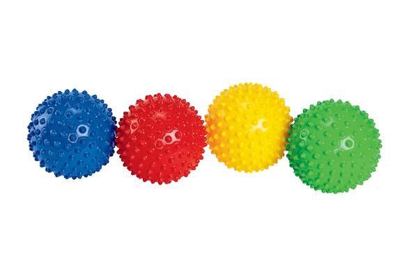 Opaque Sensory Balls - Set of 4