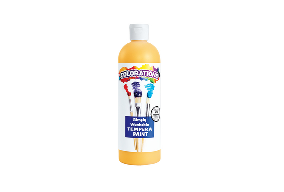 Colorations® Gold Simply Washable Tempera Paint - 16 oz.