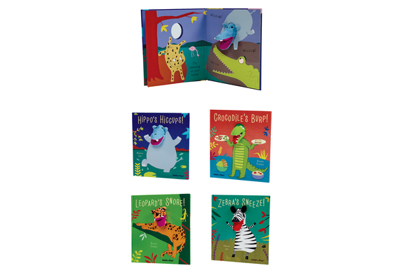 Noisy Animals Interactive Puppet Books - Set of 4