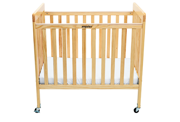 Angeles® Low-Profile Compact Crib