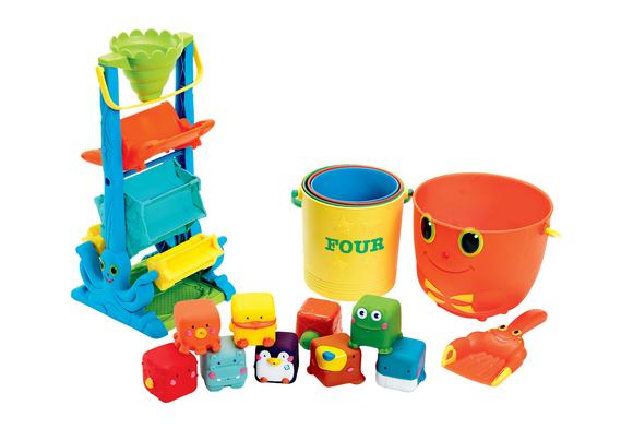 Toddler Sand & Water Kit 16 pieces