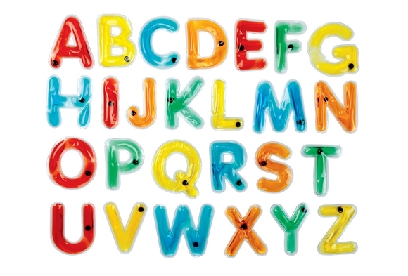 Uppercase Squishy Letters Set of 38