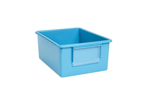 Easy Label Bin Azure Blue