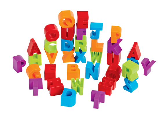 Uppercase Stacking Letter Blocks 36 Pieces