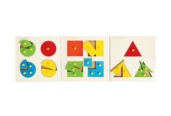 Wooden Shapes Puzzle - Discount School Supply