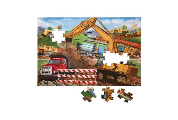 Building Site Floor Puzzle 48 Pieces