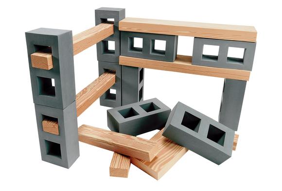 Excellerations® Foam Floor Blocks & Planks 44 pieces