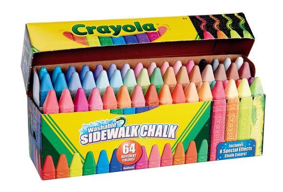 Crayola® Ultimate Sidewalk Chalk Set of 64