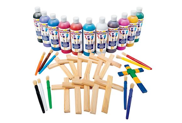 Painted Cross Art Kit