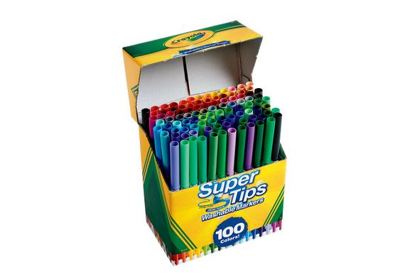 Crayola® 100 Ct. Supertip Markers