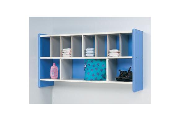 Blue Diaper Wall Storage
