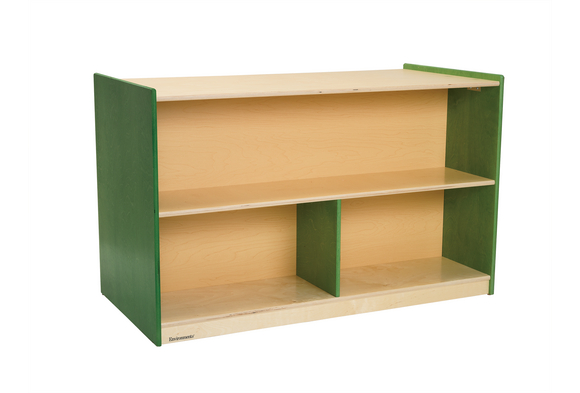 Environments® Forest Wood Double-Sided Shelf - Green