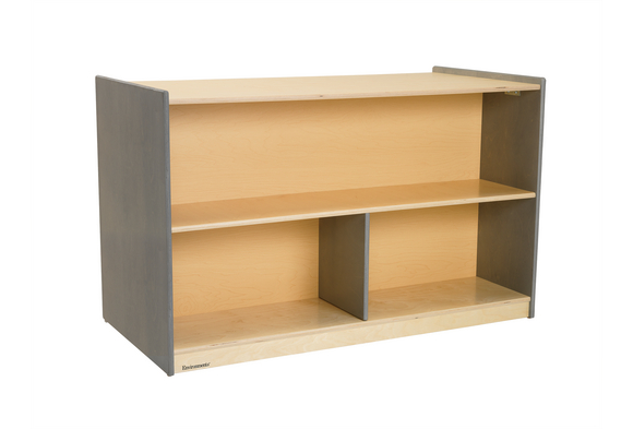 Environments® Forest Wood Double-Sided Shelf