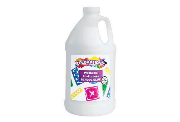 Colorations® Washable School Glue Half Gallon