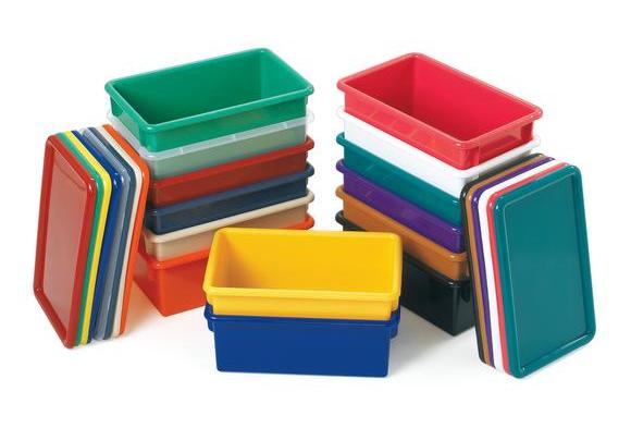 Jonti-Craft® Cubbie Trays - Clear