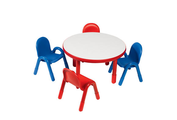 Angeles® BaseLine® Preschool Table and Chairs Set - 36