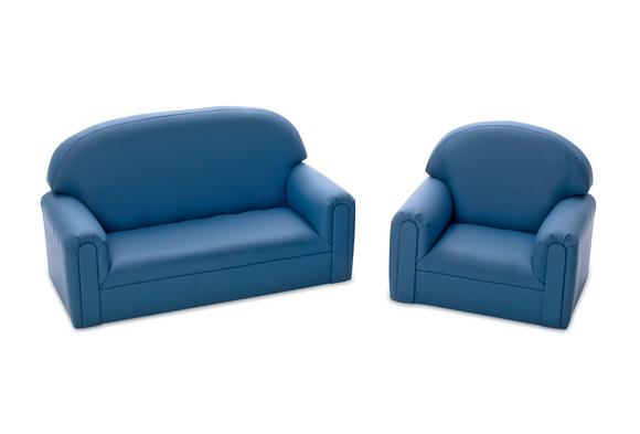 Brand New World Toddler Enviro-Child Upholstery Chair - Blue