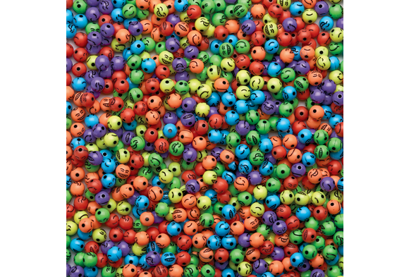 Colorations® Colorful Emotion Beads 1/2 Lb.