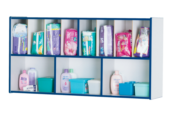 Rainbow Accents® Diaper Organizer - Blue