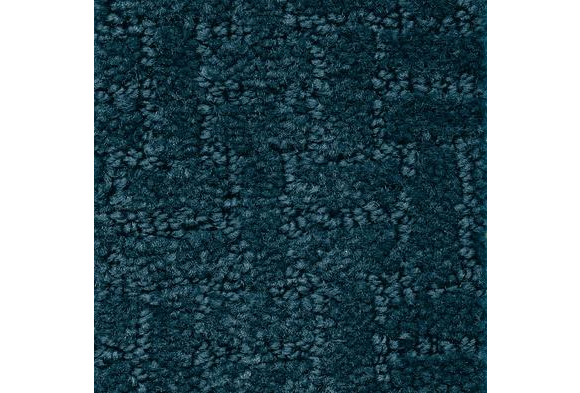Soft-Touch Texture Rug, Rectangle, 6' x 9' - Navy Blue