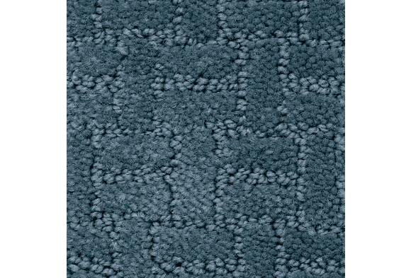Soft-Touch Texture Rug, Rectangle, 8' x 12' - Slate Blue