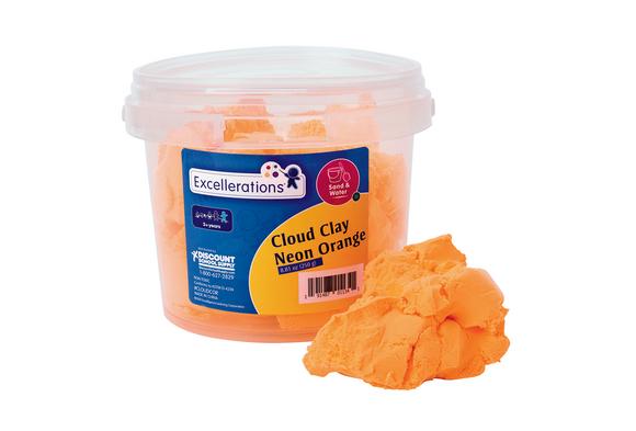 Colorations® Cloud Clay- Neon Orange