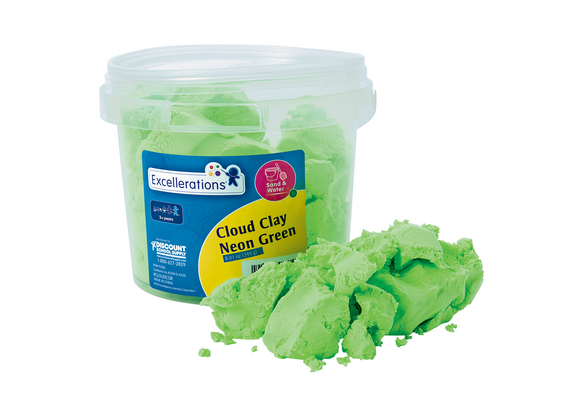 Colorations® Cloud Clay- Neon Green