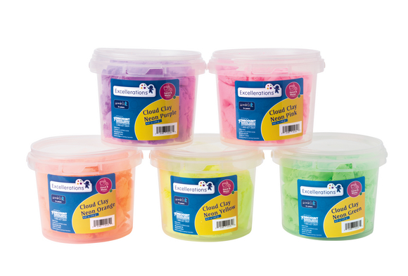 Colorations® Cloud Clay Set of 5