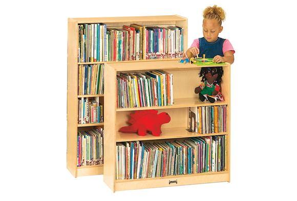Adjustable 2-Shelf Bookcase - 36