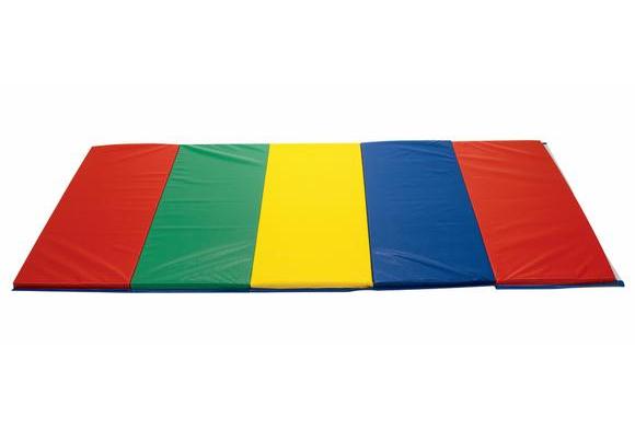 5' x 10' Rainbow Folding Mat