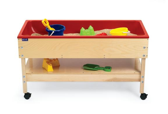 Sand and Water Table with Shelf - 24