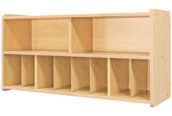 Diaper Wall Storage - Maple/Maple, Assembly Required