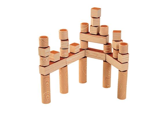 Excellerations® Easy Build Hook & Loop Blocks