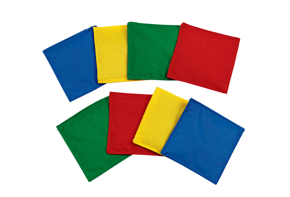 Colored Beanbags Set of 8