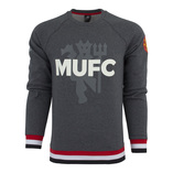 Thumb adidas manchester united sweatshirt dark heather grey 5