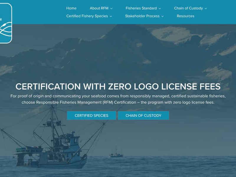 RFM Certification Website - Astra Build