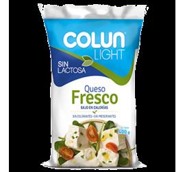 Queso Fresco Colun Light Sin Lactosa 400g