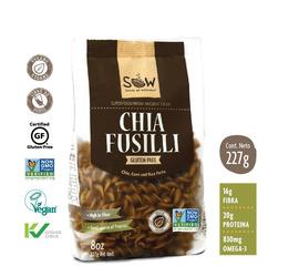 Pasta de Chia Fusilli SOW 227 grs