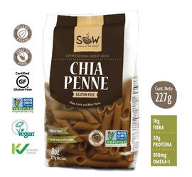 Pasta de Chia Penne SOW 227 grs
