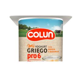 Yoghurt Colun Griego Papaya-Naranja 120gr