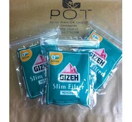 Filtros Mentolados Gizeh