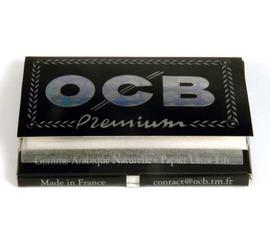 Papel OCB Negro Doble Nº8