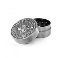 Grinder Bulldog Metálico Silver 2 Partes