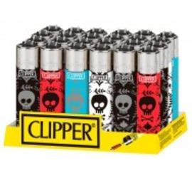 Encendedor Clipper Skulls