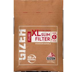 Filtro Gizeh XL Slim Pure Organico 120 unidades